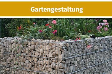 Gabionen-Gartengestaltung