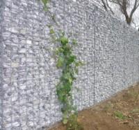 10 Meter Gabionenwand, 20 Zentimeter schmal Heinrich Grau / 2 Meter hoch / Selbstbau inkl Gabionensteine