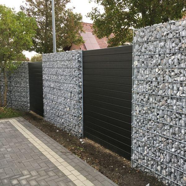 Bevorzugt WPC-Zaun & WPC-Sichtschutz | Gabionen Kaiser UP75