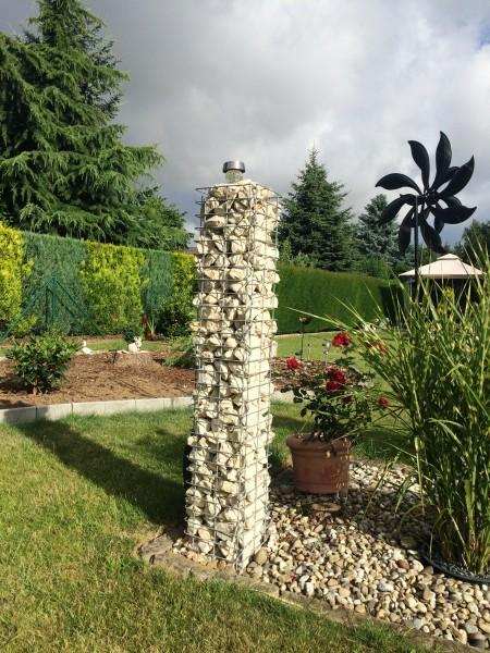 Säulen-Gabione 1,0 m hoch